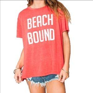 Show Me Your Mumu Beach Bound Coalson Tee